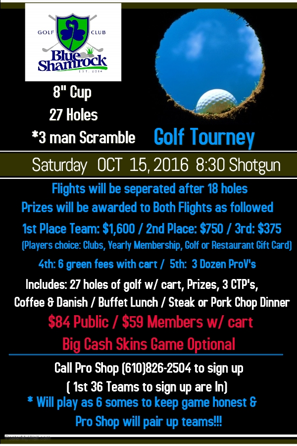 Fall 8 Inch Cup Flyer